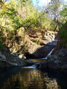 a waterfalls in boquete