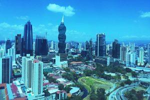 sky line of Panama City
