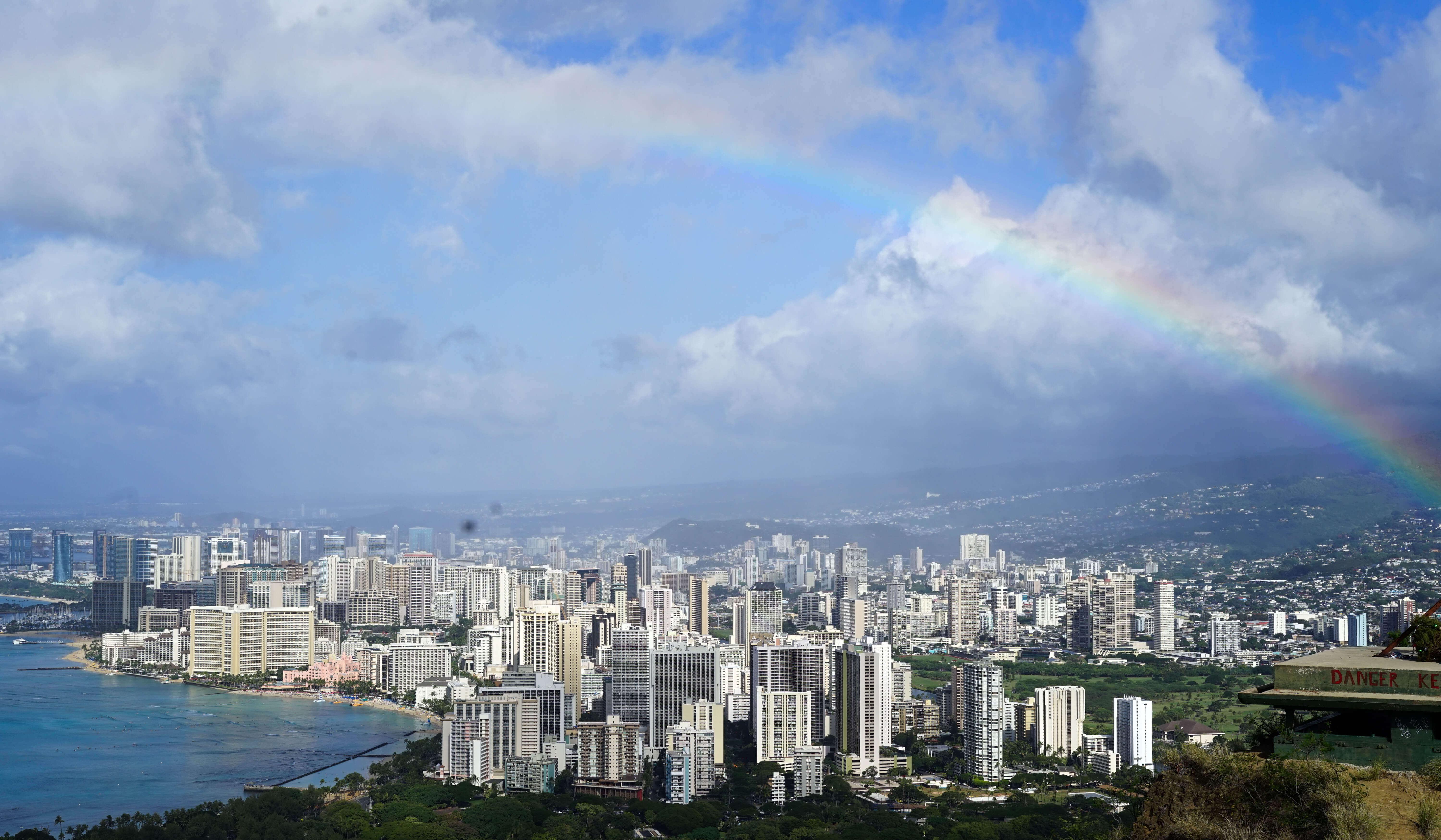 Newark to Honolulu on United Economy