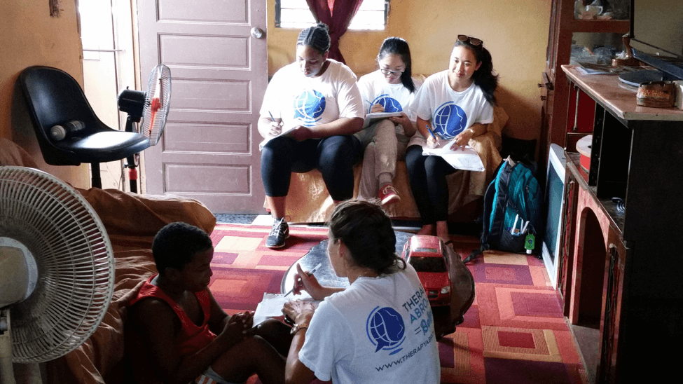Photo from The Therapy Abroad Program in Belize