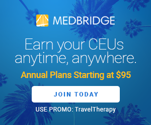 advertisement for MedBridge CEU's