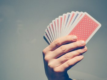 a deck of cards