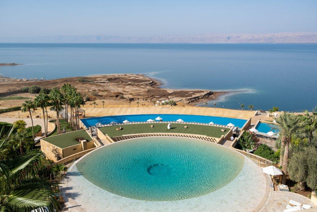 pool at the Kempinski Dead Sea
